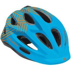 Rudy Project Rocky Casco Bambino, blue-orange shiny